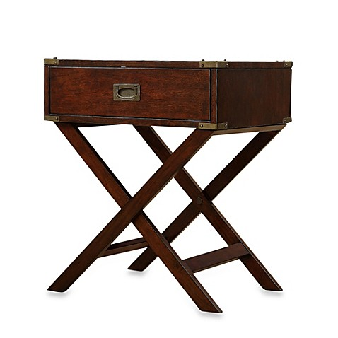Buy accent table with cross leg night stand from bed bath amp beyond
