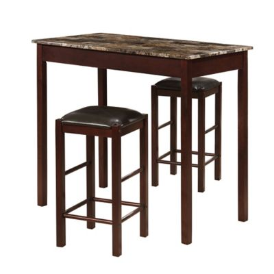 Linon Home 3-Piece Tavern Set