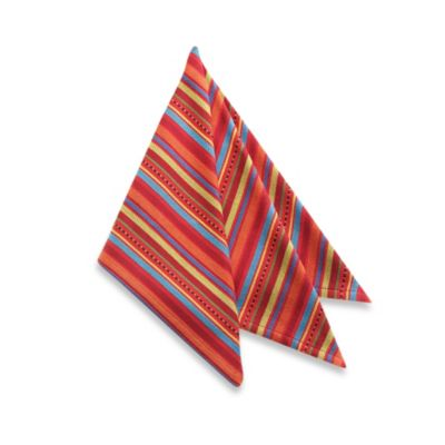 OLE! Stripe Napkin - 100% Cotton