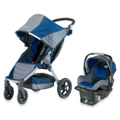 BOB® Motion Travel System in Navy - from BOB Strollers