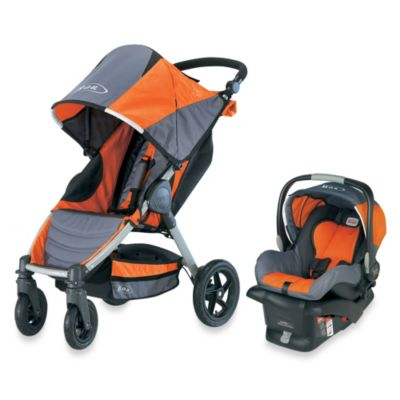 BOB® Motion Travel System in Orange - from BOB Strollers