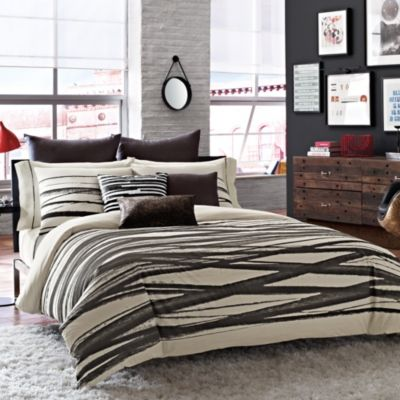 Buy Kenneth Cole Reaction Home Landscape Twin Duvet Cover