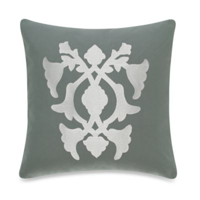 Barbara Barry® Poetical 18-Inch Square Toss Pillow in Celadon