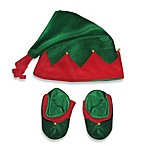 So 'dorable Elf Hat and Bootie Set