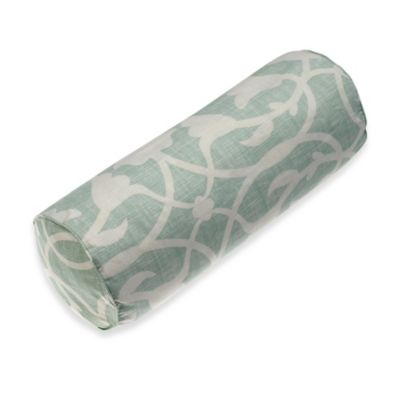 Barbara Barry® Poetical Neckroll Pillow in Celadon