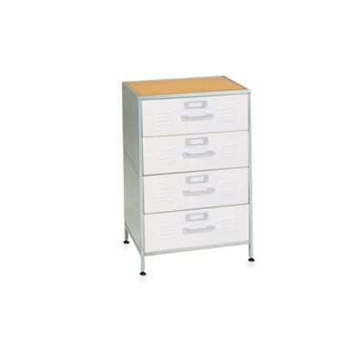 American Furniture Alliance 4-Drawer Locker Dresser