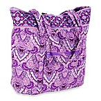 Home Essentials Quilted Emily Tote Bag in Purple