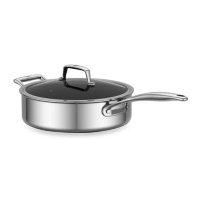 ZWILLING® Energy 3-Quart Ceramic-Coated Stainless Steel Covered Saute Pan