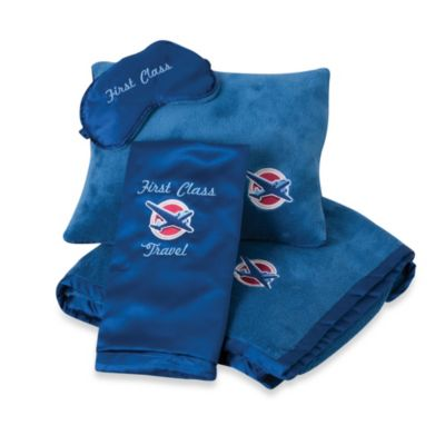 First Class Travel Comfort Set in Blue