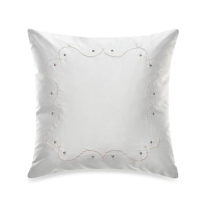 The Tallulah Collection by Kevin O'Brien Arcadia Square Satin Throw Pillow