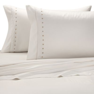 The Tallulah Collection by Kevin O'Brien Sheet Set in Ivory