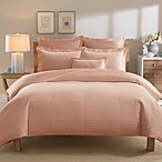 Real Simple® Linear Duvet Cover in Peach
