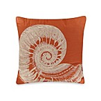 Tommy Bahama® Trellis Seashell Square Toss Pillow in Ivory Crimson