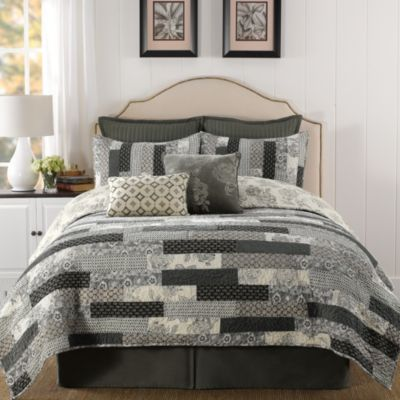 B. Smith Eleora Quilted Pillow Sham