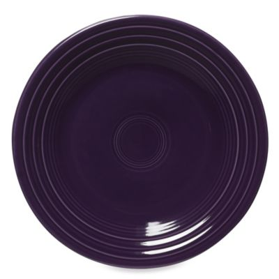 Luncheon Plate in Plum