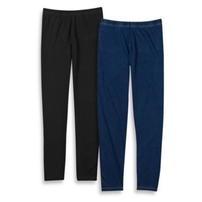 Capelli® Denim Leggings with Back Pockets