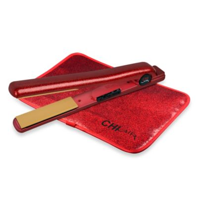 CHI Air Expert Classic Tourmaline Ceramic 1-Inch Barrel Flat Iron in Ruby Glitter