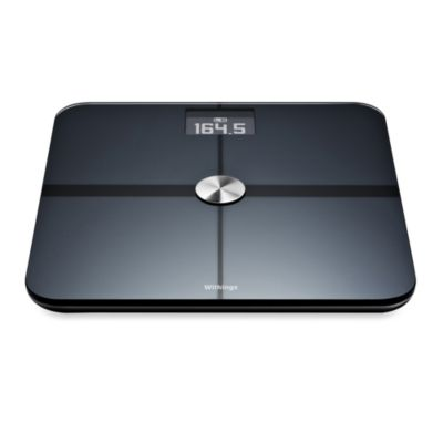 Withings Smart Body Analyzer Bathroom Scale in Black