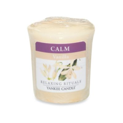 Yankee Candle® Relaxing Rituals™ Wrapped Sampler Vanilla Votive Candle
