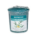 Yankee Candle® Relaxing Rituals™ Wrapped Sampler Eucalyptus Votive Candle