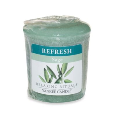 Yankee Candle® Relaxing Rituals™ Wrapped Sampler Sage Votive Candle
