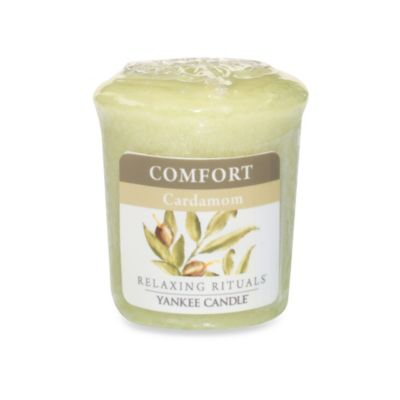 Yankee Candle® Relaxing Rituals™ Wrapped Sampler Cardamom Votive Candle