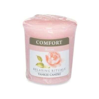 Yankee Candle® Relaxing Rituals™ Wrapped Sampler Rose Votive Candle