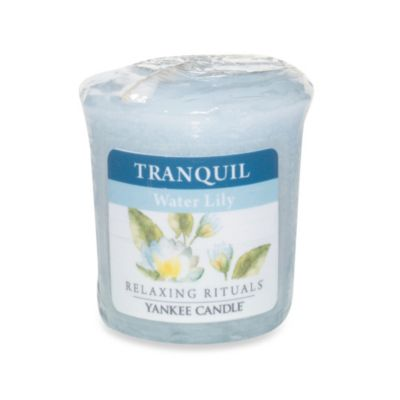 Yankee Candle® Relaxing Rituals™ Wrapped Sampler Water Lily Votive Candle
