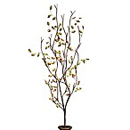 39-Inch Battery Operated Green and Red Leaf LED Lighted Branches