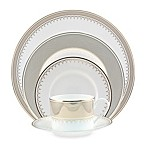 Nikko Lattice Gold 5-Piece Dinnerware Set
