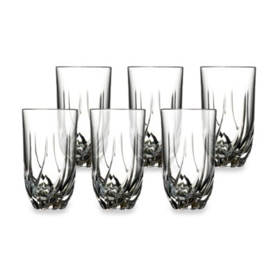 Lorenzo Home Trends RCR Trix Crystal Highball Glass (Set of 6)