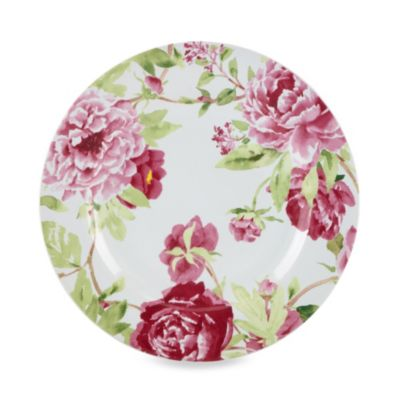 Kathy Ireland Home® by Gorham Blossoming Rose 8.25-Inch Salad Plate