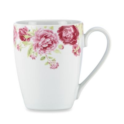 Kathy Ireland Home® by Gorham Blossoming Rose 13-Ounce Mug