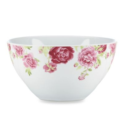 Kathy Ireland Home by Gorham Blossoming Rose 6.25-Inch All-Purpose Bowl