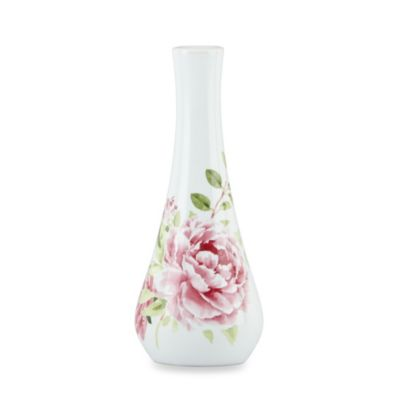 Kathy Ireland Home by Gorham Blossoming Rose 7-Inch Vase