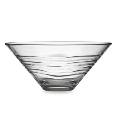 Kathy Ireland Home by Gorham Kahala Glass Serving Bowl