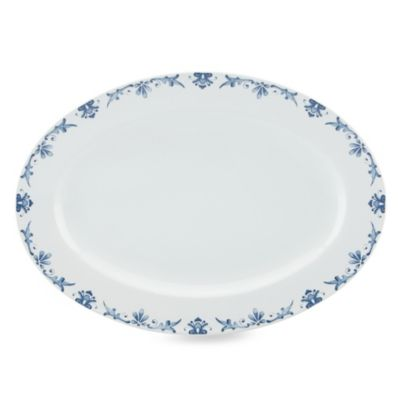 Kathy Ireland Home by Gorham Nature's Song 14-Inch Oval Platter
