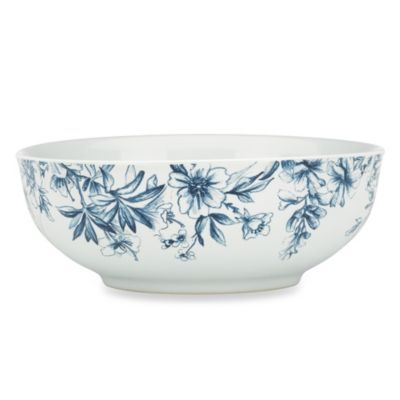 Kathy Ireland Home® by Gorham Nature's Song Vegetable Bowl
