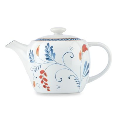 Kathy Ireland Home® by Gorham Spanish Botanica 30-Ounce Teapot
