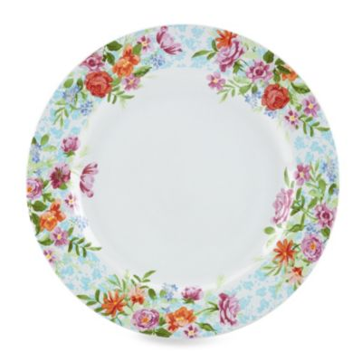 Kathy Ireland Home® by Gorham Spring Bouquet 11-Inch Dinner Plate