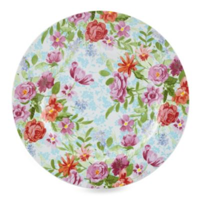 Kathy Ireland Home by Gorham Spring Bouquet 8.25-Inch Salad Plate