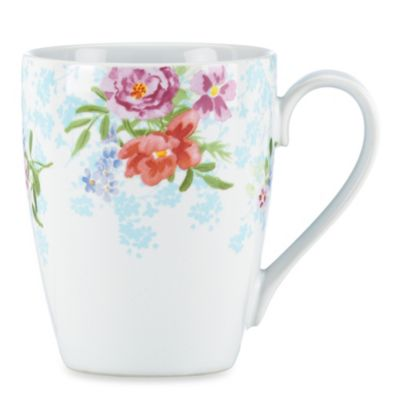 Kathy Ireland Home by Gorham Spring Bouquet 13-Ounce Mug