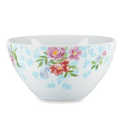 Kathy Ireland Home by Gorham Spring Bouquet 6.25-Inch All-Purpose Bowl