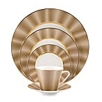 Nikko Silk Champagne 5-Piece Dinnerware Set