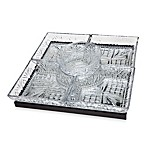 Godinger Silver Dublin Lazy Susan with 5 Dishes