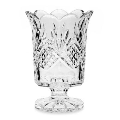 Godinger Dublin Crystal Silver Hurricane Lamp
