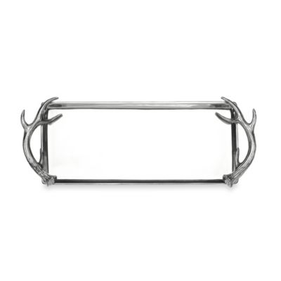 Arthur Court Designs Antler Oblong Tray