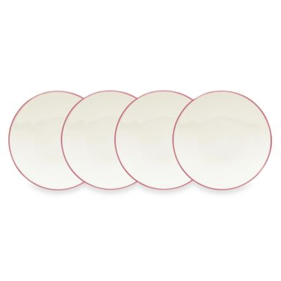 Noritake® Colorwave Raspberry 6 1/4-Inch Mini Plates (Set of 4)