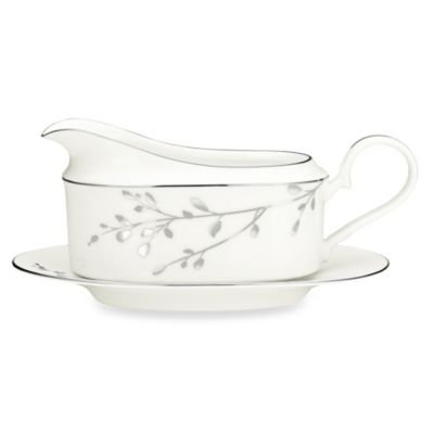 Noritake® Birchwood Gravy Boat with Tray