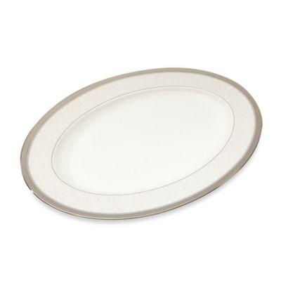 Noritake® Odessa Platinum 16-Inch Oval Platter